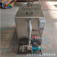 电加热油水分离器 餐饮油脂油水分离 型号可定制 温控加热隔油过滤设备