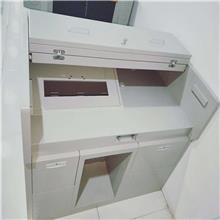 厂家定制不锈钢工作台酒店厨房双层操作台实验室净化工作台打包台