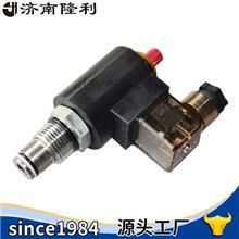 插装阀二位二通电磁阀DHF10-220H常闭附带手动可带块定制山东济南