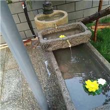 供应农村天然老旧青石槽_牛槽水槽 石槽造景流水摆件