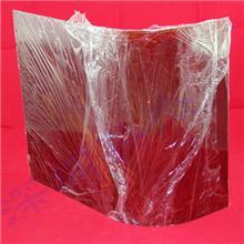 厂家定制亚克力茶色防护罩 透明黄茶红茶翻盖挡板机器设备防护罩
