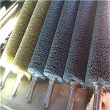 采购抛光磨料丝刷辊_碳化硅磨料辊刷_缠绕式研磨滚刷_可来图定制