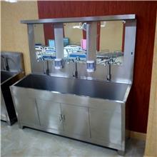 双开门医用器械柜 不锈钢通体玻璃针剂柜 实验室座面器械柜