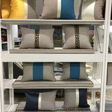 乌鲁木齐-内蒙古-包头 新中式客厅沙发靠垫抱枕禅意国风家用轻奢床头靠背垫腰靠枕含芯
