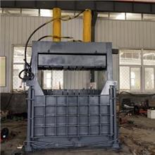 定制全自动液压废纸打包机 棉麻制品 棉絮 羊毛 纺织厂边角料打包机