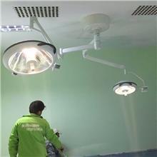 方臂转向无影灯 led无影灯与卤素灯的区别 QFXM 子母手术灯手术灯