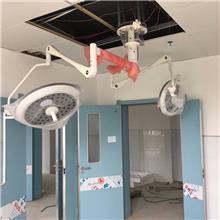 手术室卤素光源灯 多点光源设计 QFXM 手术灯移动式