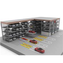 垂直循环智能立体车库 机械车库