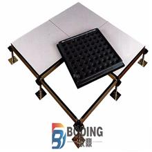 全钢无边防静电地板 钢质高架地板 可定制活动地板