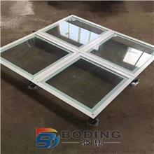 全钢防静电地板机房高架空pvc抗静电地板活动网络地板学校600*600
