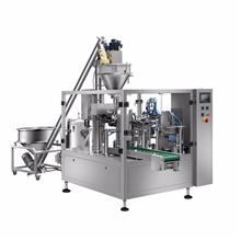 给袋式膨化食品包装机 十头电子称给袋式包装机供应商 利华机械