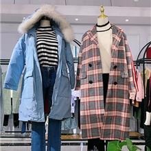 香港品牌 C&M 秋冬装 亏本清仓物价处理 品牌女装折扣货源 走份拿货