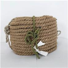 手工捆绑绳子 三股细棉绳 编织黄麻绳 供应价格