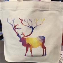 帆布袋定制广告帆布包定做logo棉布束口袋空白手提环保购物袋厂家