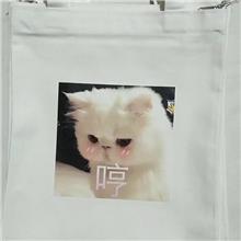 帆布手提袋定制logo定做印图案广告袋棉布袋包订制环保抽全棉加急