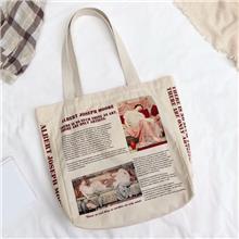 帆布袋定制logo购物抽绳束口袋定做全棉空白棉布袋手提帆布包环保