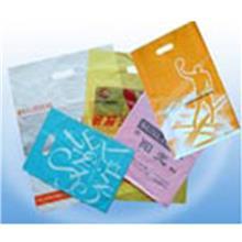 塑料购物袋定制 图案logo承接定做 天津华浩塑料