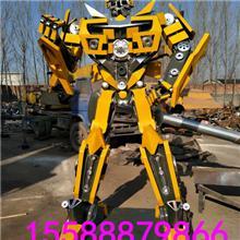 厂家直销金属工艺品铁艺变形金刚机器人模型,飞机坦克租售